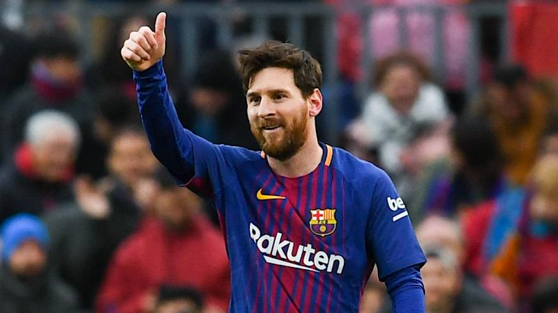 Lionel Messi returns: Barcelona star back to training ahead of Sevilla encounter class=