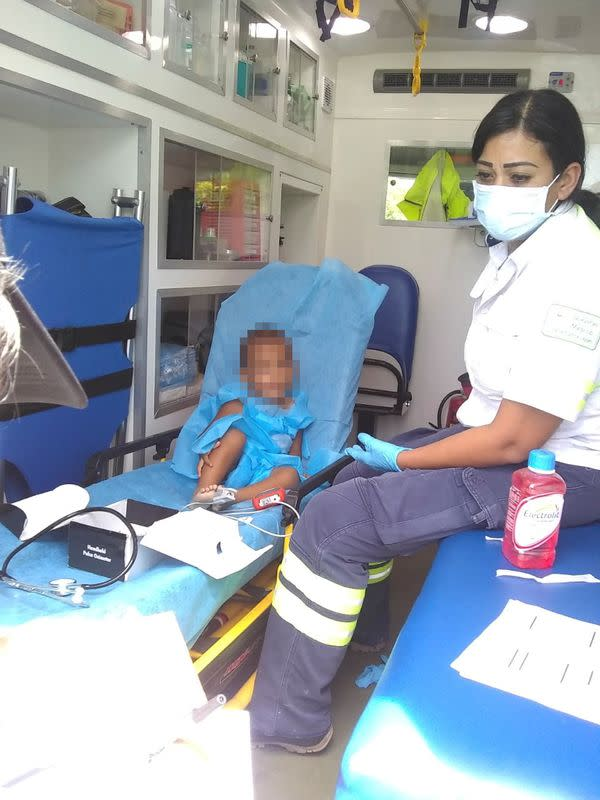 Mexican authorities find 2-year-old boy abandoned near migrant truck in Veracruz