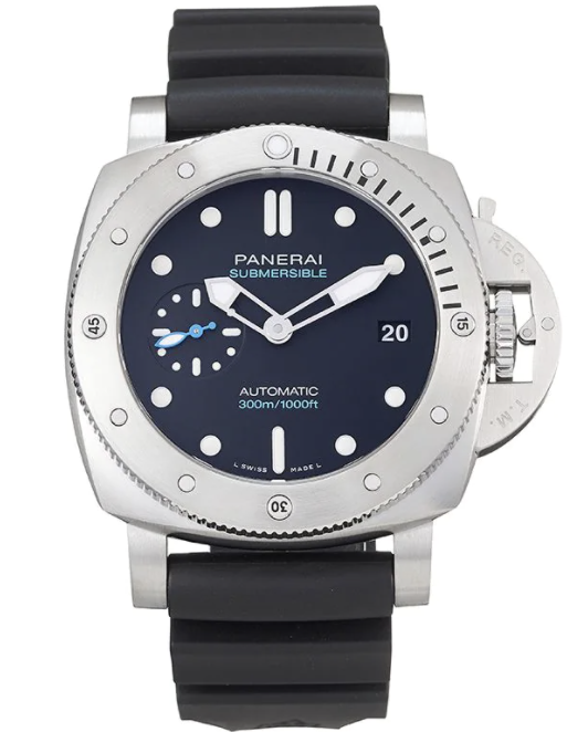 PHOTO: FARFETCH. Panerai 2021 unworn Submersible 42mm