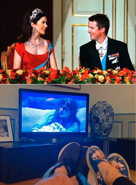 Princess Mary and Prince Frederik in isolation