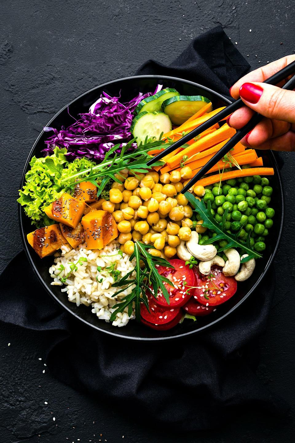 The Mediterranean diet. Which is typically ranked the best diet for weight loss.