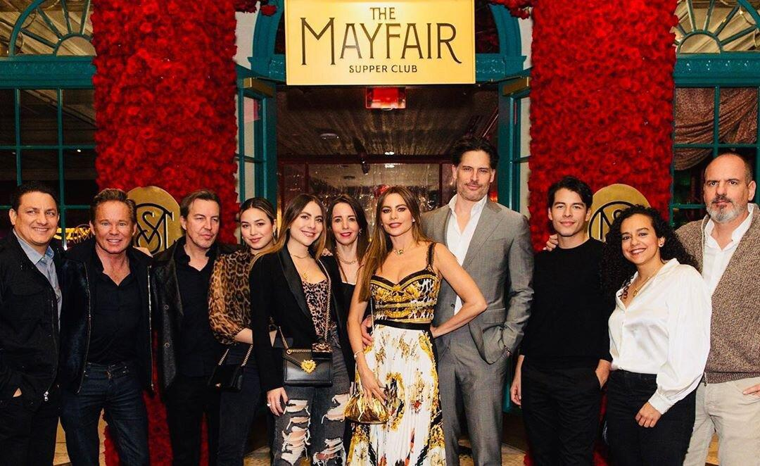 """<a href=""""https://themayfairlv.com/"""" target=""""_blank""""><strong>The Mayfair Supper Club</strong></a>  <strong>Las Vegas</strong>  The couple along with Vergara's son, Manolo Gonzalez Vergara, and a group of close friends stopped by the latest Las Vegas hotspot at the Bellagio resort. They shared dishes including the seafood tower, tuna crudo, and prime rib, before finishing the night with the restaurant's unique dessert, """"The Cigar,"""" which is an edible chocolate and hazelnut praline cigar presented in a smoke-filled jar."""