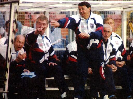 <p>It was a tough time for England manager Graham Taylor</p>Getty