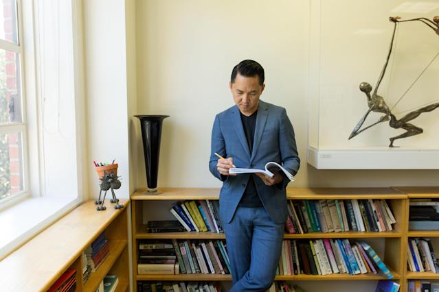 Viet Thanh Nguyen, 2017 MacArthur Fellow, University of Southern California, Los Angeles, CA, September 23, 2017.