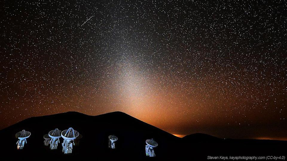 Mars dust storms may be the source of 'zodiacal light' seen from Earth