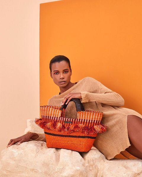 """<p>Akosua Afriyie-Kumi established AAKS to celebrate her favourite weaving technique, producing durable and stylish designs. Made in Ghana, these hand-woven bags also create sustainable jobs in Africa.</p><p><a class=""""link rapid-noclick-resp"""" href=""""https://www.aaksonline.com/"""" rel=""""nofollow noopener"""" target=""""_blank"""" data-ylk=""""slk:Shop AAKS"""">Shop AAKS</a></p><p><a href=""""https://www.instagram.com/p/B81CUo4lSxa/"""" rel=""""nofollow noopener"""" target=""""_blank"""" data-ylk=""""slk:See the original post on Instagram"""" class=""""link rapid-noclick-resp"""">See the original post on Instagram</a></p>"""