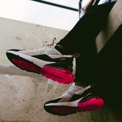 Photo courtesy of Hibbett Sports: Nike Air Max 270 Sneakers launching at Hibbett Sports stores