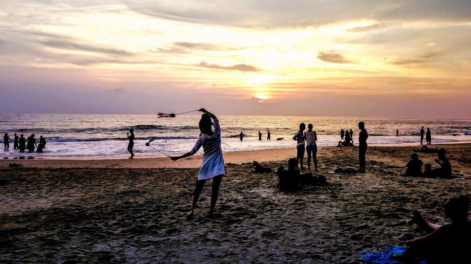 """<p>Varkala may not have as intense a party scene as some of the Goa beaches, but don't let that stop you from heading down there. Majestic cliffs overlook the clean beach that encourages long walks and moments of solitude. Avoid swimming here, though, since the currents tend to be strong.<br>Photograph: <a href=""""https://www.flickr.com/photos/paaddor/39669549461/sizes/l"""" rel=""""nofollow noopener"""" target=""""_blank"""" data-ylk=""""slk:Peter Addor/Flickr (Under Creative Commons License)"""" class=""""link rapid-noclick-resp"""">Peter Addor/Flickr (Under Creative Commons License)</a></p>"""