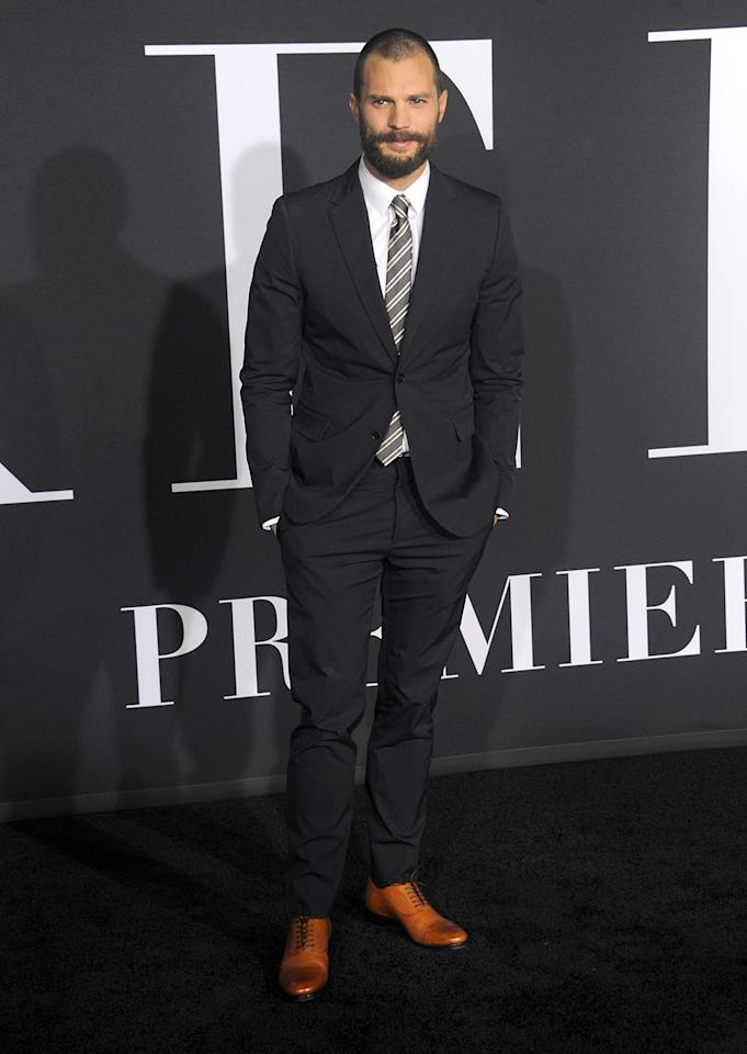 <p>Dornan returns as the dashing dom Christian Grey. (Photo: Albert L. Ortega/Getty Images) </p>