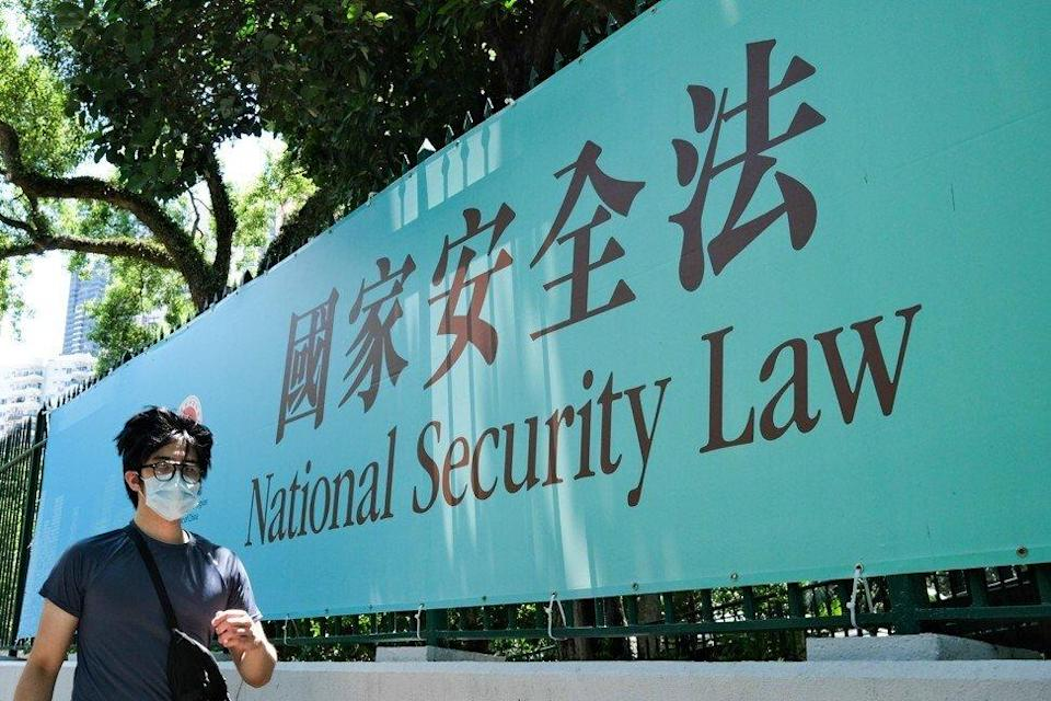 Beijing imposed a national security law on Hong Kong in June 2020. Photo: AFP