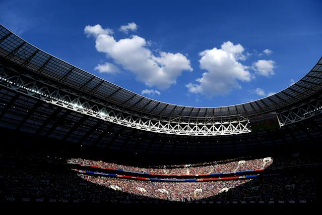 <p>Una vista del estadio Luzhniki de Moscú. Foto: Mike Hewitt – FIFA/FIFA via Getty Images </p>