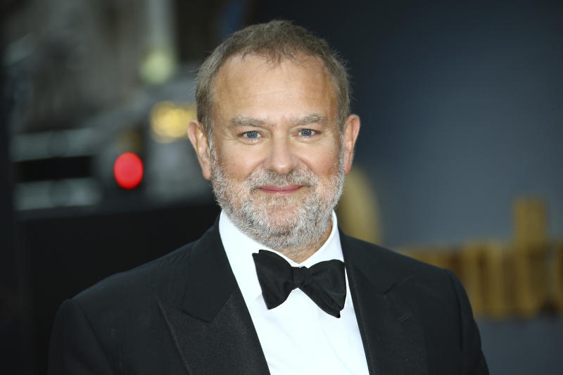 Actor Hugh Bonneville poses for photographers upon arrival at the World premiere of the film 'Downton Abbey' in central London, Monday, Sept. 9, 2019. (Photo by Joel C Ryan/Invision/AP)
