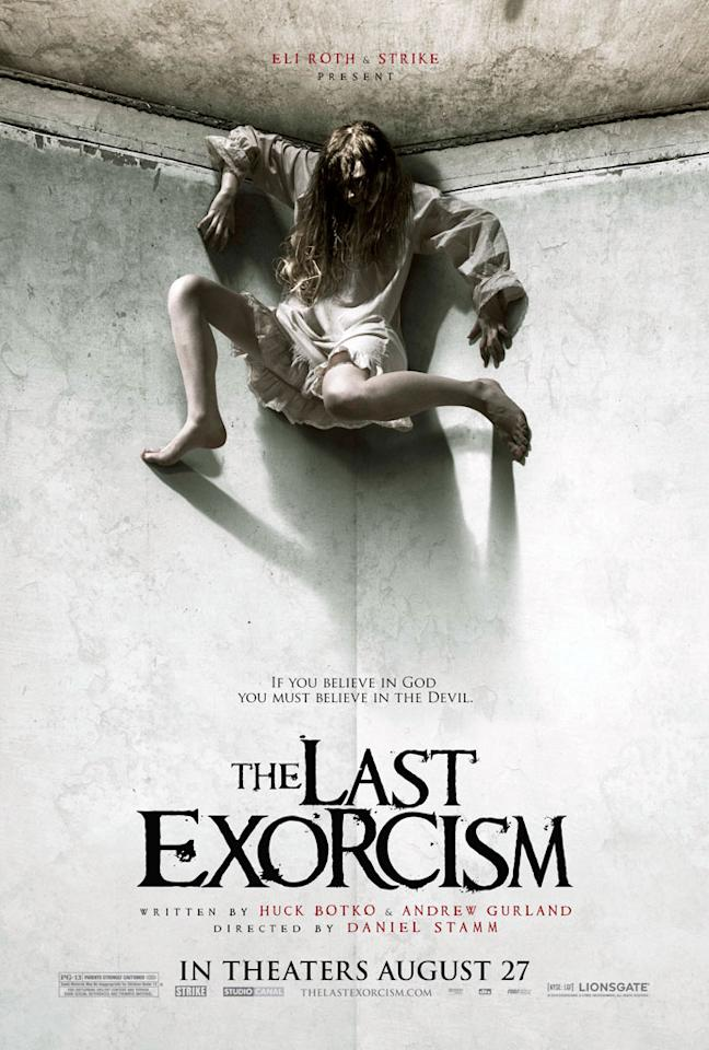 """Lionsgate's <a href=""""http://movies.yahoo.com/movie/1810152400/info"""">The Last Exorcism</a> - 2010"""