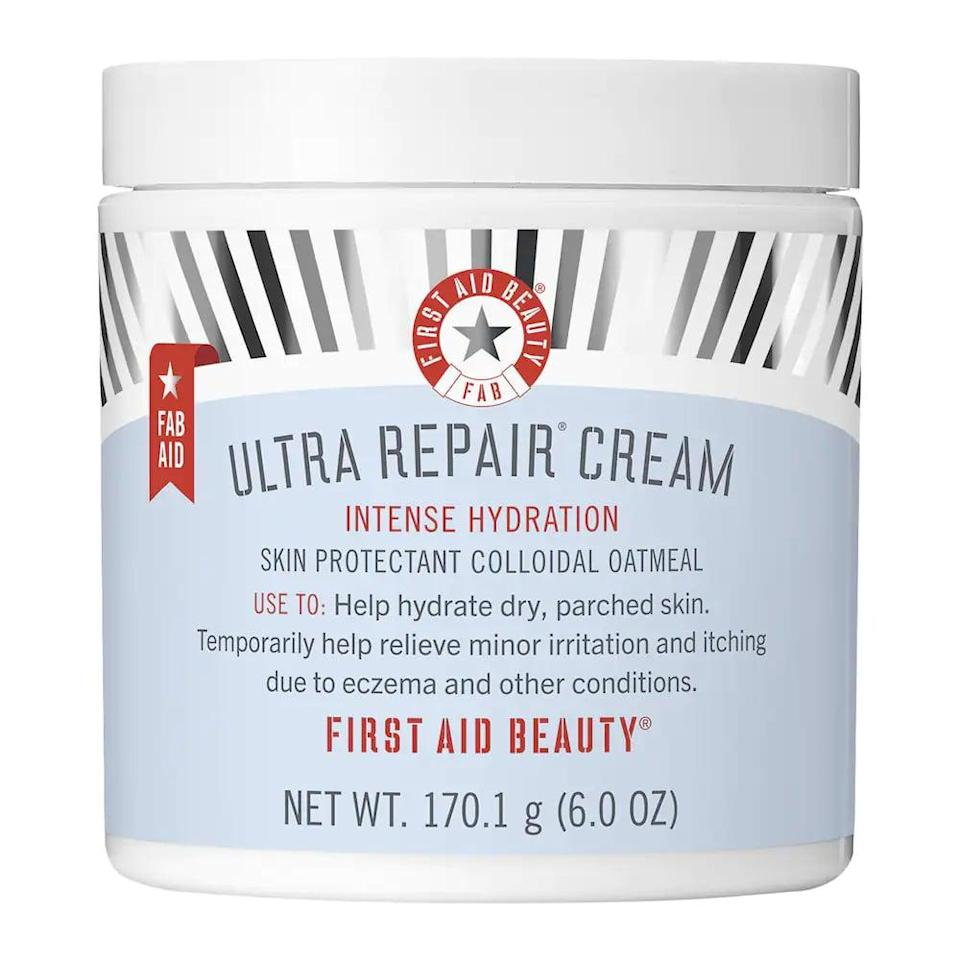 <p>This <span>First Aid Beauty Ultra Repair Cream Intense Hydration</span> ($36) is a holy grail pick for people with seriously dry skin. It's a cream you can use on your face and body, and it's got thousands of positive reviews from customers.</p>