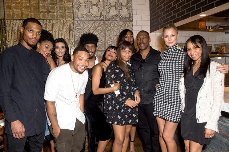 Eddie Murphy Brings 7 Of His Children To The Mr Church Premiere Eddie murphy set to be father for 10th time — adding up the kids!. eddie murphy brings 7 of his children