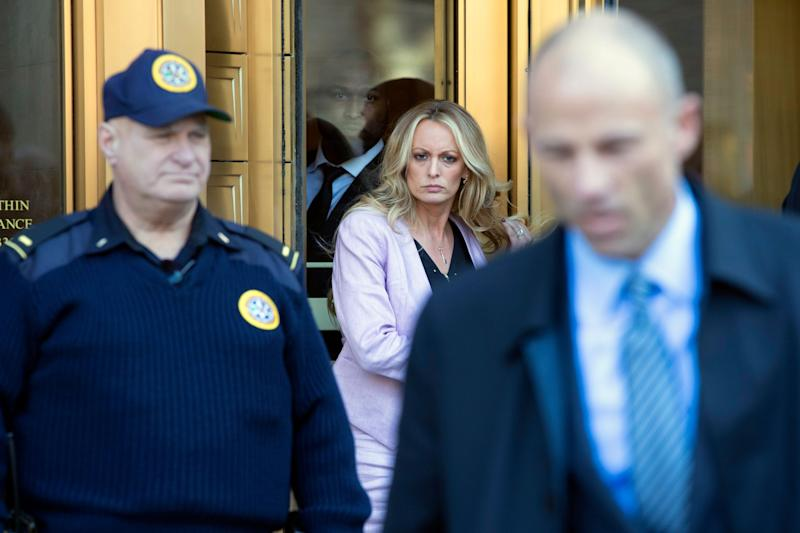 Adult-film actress Stormy Daniels says she had an affair with Donald Trump and was paid to keep quiet about it.