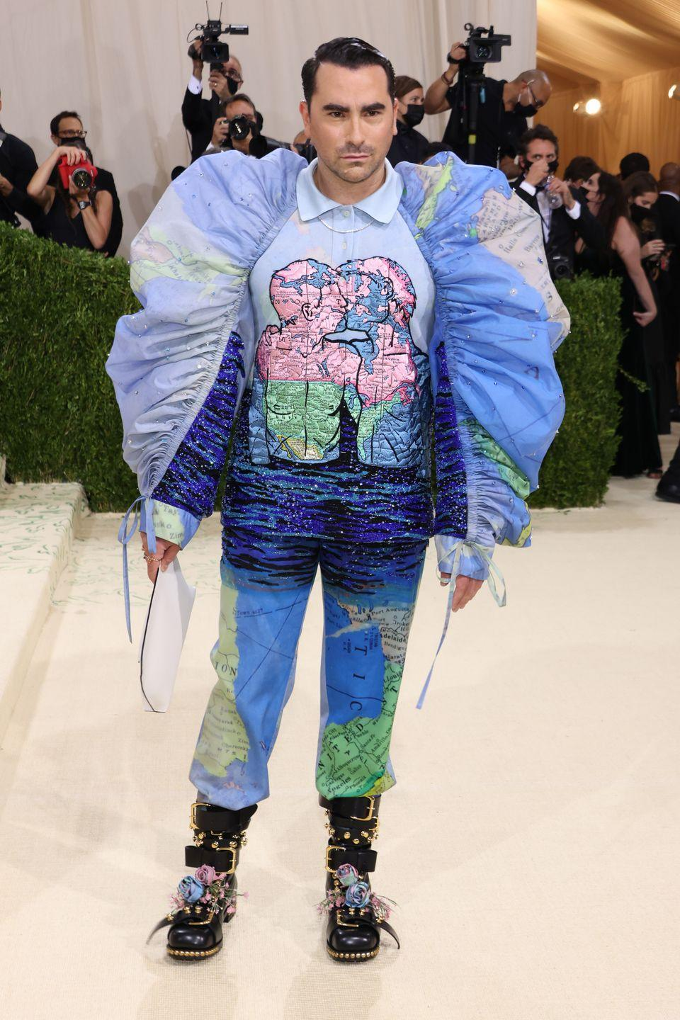<p>Because this is what we want from our Met Gala red carpet: pure cray with a strong message. While this outfit might seem ridiculous on the surface, it's paying homage to the work of American queer artist and activist David Wojnarowicz and defiantly imagining a world of free queer expression. We absolutely love it. </p>