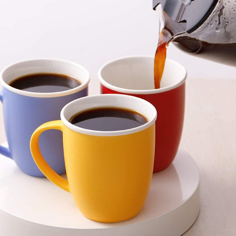 <p><span>LIFVER 18 Ounces Coffee Mugs (Set of 6)</span> ($24, originally $30)</p>