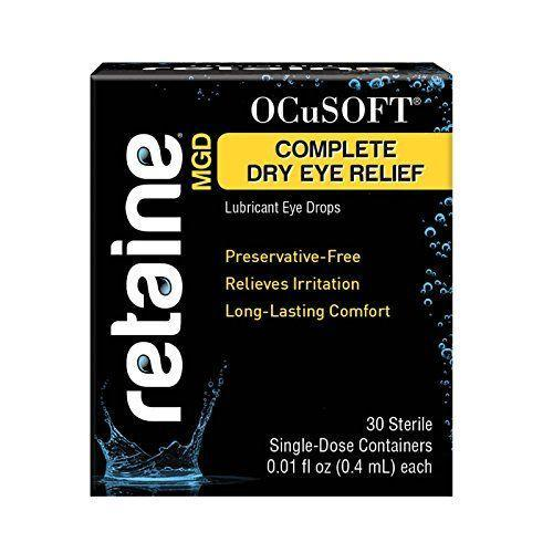 "<p><strong>OCuSOFT</strong></p><p>amazon.com</p><p><strong>$19.89</strong></p><p><a href=""https://www.amazon.com/dp/B00J56MMPQ?tag=syn-yahoo-20&ascsubtag=%5Bartid%7C2140.g.29320458%5Bsrc%7Cyahoo-us"" rel=""nofollow noopener"" target=""_blank"" data-ylk=""slk:Shop Now"" class=""link rapid-noclick-resp"">Shop Now</a></p><p>If you're struggling with dry eye during allergy season, you may be having trouble with the oil production in your tears. If that's your issue (and you may need to see an eye doctor to find out for sure), Dr. Shibayama recommends trying out Retaine MGD drops. They help moisturize and lubricate your eyes.</p>"