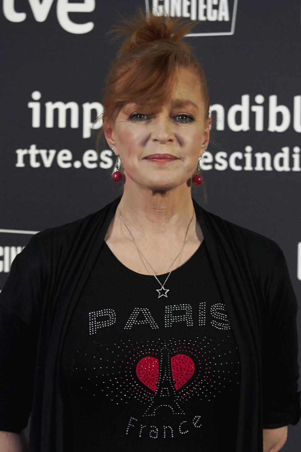 MADRID, SPAIN - MAY 17:  Actress Andrea Bronston attends the 'Imprescindibles' premiere at the Cineteca cinema on May 17, 2017 in Madrid, Spain.  (Photo by Carlos R. Alvarez/WireImage)