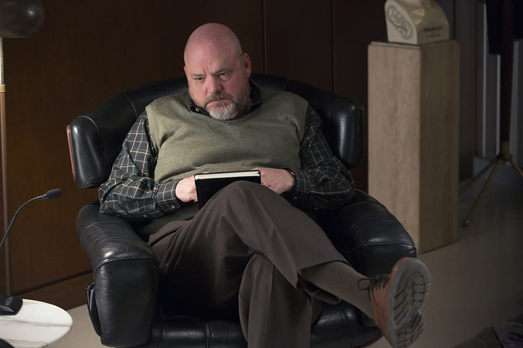 "Pruitt Taylor Vince in the ""True Blood"" Season 6 episode, ""In the Evening."""
