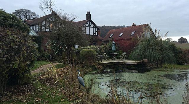 Paul Burrell's home in Cheshire.