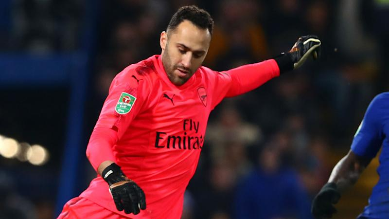 No scorpion kick for Ospina as he follows in Higuita's Wembley footsteps with Arsenal