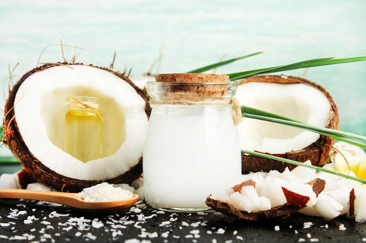 """<p>When it comes to coconut oil, there's a <em>lot </em>of<em></em> lingo to wade through. Consider the following terms when investigating labels to ensure you grab a high-quality jar.</p><p><strong>Food-grade</strong>: """"If you're planning to consume coconut oil in any form, cooked or raw, make sure it is food-grade coconut oil,"""" says dietitian <a href=""""https://alissarumsey.com/"""">Alissa Rumsey</a>, RD, an NYC-based nutrition therapist.</p><p><strong>Refined vs. unrefined</strong>: There are a few factors to consider here, says Rumsey. While unrefined oils are processed without heat and are best for lower-heat cooking and baking, refined oils have a higher smoke point and can be used for higher-heat cooking methods.  </p><p>However, """"the refinement process strips away some nutrients and some of the coconut taste,"""" Rumsey says. </p><p>Look for either an unrefined oil or a refined oil that has been processed using 'chemical-free' methods.</p><p><strong>Virgin vs. extra-virgin</strong>: Considering the U.S. Department of Agriculture (USDA) doesn't recognize the term for coconut oil, the words """"extra-virgin"""" plastered across a jar of the stuff is just marketing. </p><p>The term """"virgin"""" on a jar of coconut oil, however, indicates that it's unrefined. </p><p>Either term typically indicates that a brand of coconut oil is high-quality, Angelone says.</p><p><strong>Cold-pressed vs. expeller-pressed</strong>: Though these processing methods are more important for oils high in certain antioxidants and unsaturated fats, which oxidize quickly, they don't matter so much for coconut oil, says Angelone.  </p><p><strong>Organic</strong>: Though organic coconut oils are typically higher-quality, coconuts aren't a high-risk food for pesticides, so going organic isn't a must, Angelone says.<br><br></p>"""