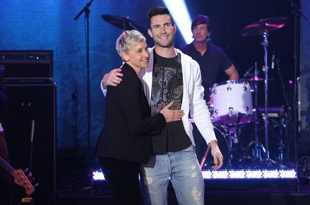 Ellen Degeneres and Adam Levine were friends before they were buyer and seller
