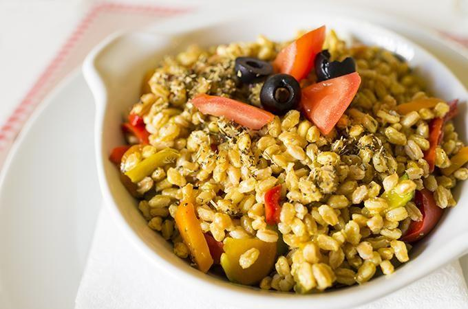 Farro goes well in salads. Photo: iStock