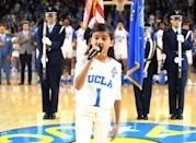 """<p>A younger Selena will be played by 9-year-old Madison Taylor Baez. <a href=""""https://www.madisonbaezmusic.com/"""" rel=""""nofollow noopener"""" target=""""_blank"""" data-ylk=""""slk:Baez is a young singer"""" class=""""link rapid-noclick-resp"""">Baez is a young singer</a>, who is primarily known for performing the national anthem at a number of pro sports games. Now, she's ready to take on the huge role of playing Selena when she was an up-and-coming singer.</p>"""