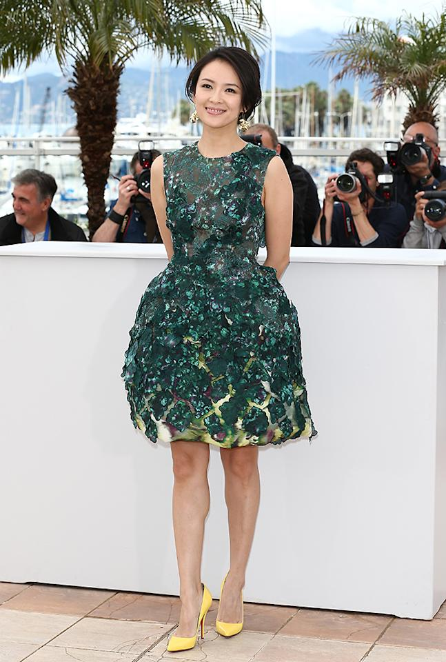 CANNES, FRANCE - MAY 16:  Jury member actress Zhang Ziyi attends the Jury 'Un Certain Regard' Photocall during the 66th Annual Cannes Film Festival at the Palais des Festivals on May 16, 2013 in Cannes, France.  (Photo by Andreas Rentz/Getty Images)