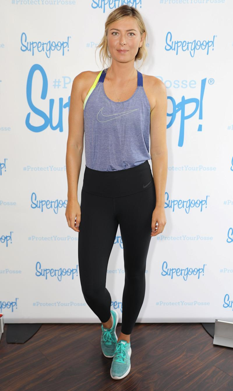 25910809675c Maria Sharapova Shares How She Stays in Shape Off the Tennis Court