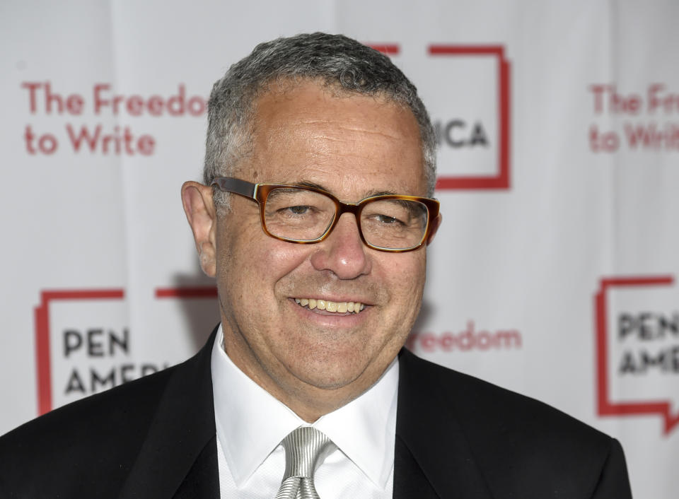 Lawyer and author Jeffrey Toobin attends the 2018 PEN Literary Gala at the American Museum of Natural History on Tuesday, May 22, 2018, in New York. (Photo by Evan Agostini/Invision/AP)