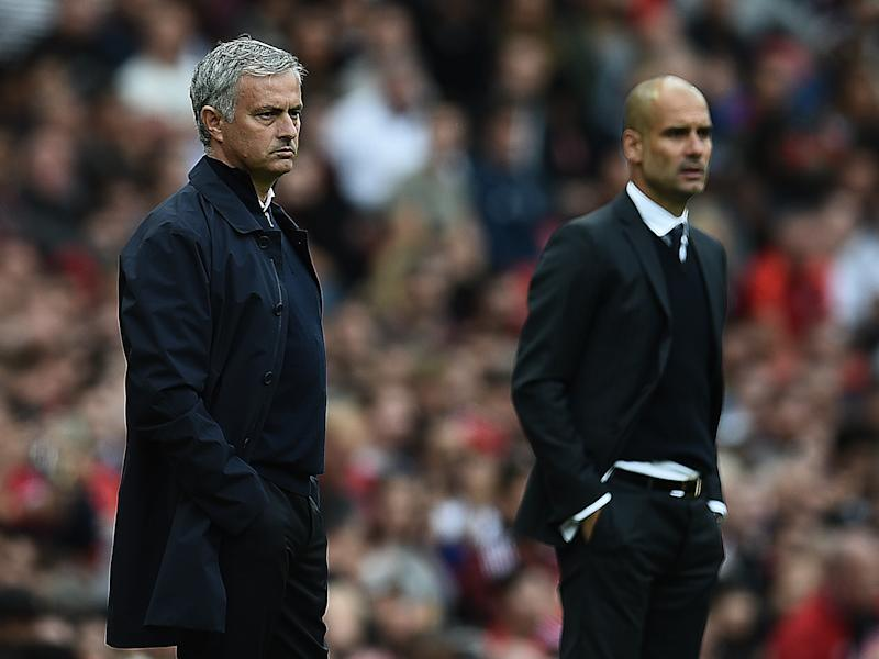 Jose Mourinho enjoyed a healthy rivalry with Pep Guardiola during their time together in La Liga: Getty