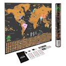 <p>If you know someone who travels a lot, get them this <span>Scratch-Off World Map Poster</span> ($20, originally $50). That way, they can keep track of every country they've been to. </p>