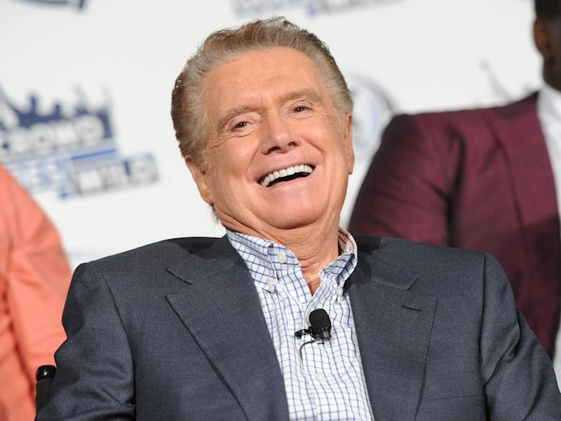Regis Philbin hosting Fox Sports 1 talk show