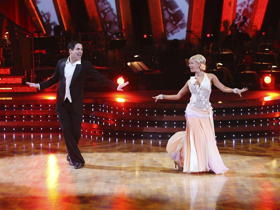 <p>Mark received 8th place on his season of DWTS, which doesn't seem too shabby for a guy who normally sits behind a desk and doles out moolah to start ups. </p>
