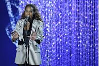 """<p>Former contestant Glennis Grace revealed that she didn't choose her songs on the show. In an <a href=""""https://www.youtube.com/watch?v=1-gxP1KLFRY&feature=youtu.be"""" rel=""""nofollow noopener"""" target=""""_blank"""" data-ylk=""""slk:interview with Talent Recap"""" class=""""link rapid-noclick-resp"""">interview with Talent Recap</a>, Grace explained this, saying, """"We had a lot of options, but this was the song I had to do.""""</p>"""