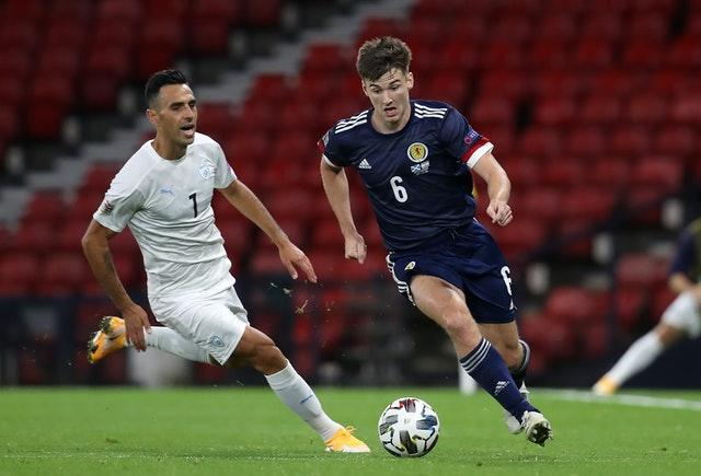 Tierney was forced to withdraw from the Scotland squad.