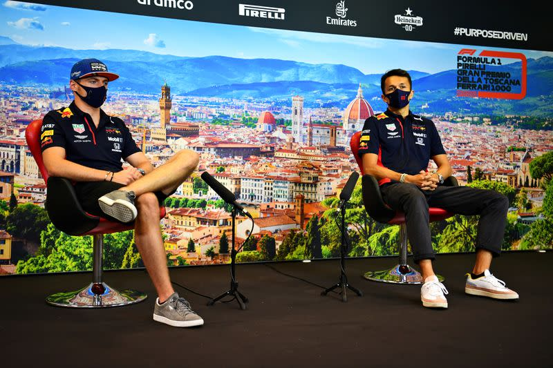Red Bull aim to keep Albon, Verstappen and Newey together