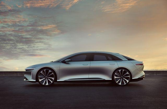 Lucid Motors' first EV to roll off production line in December 2020