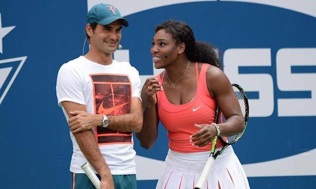 "<span class=""element-image__caption"">Roger Federer has called Serena Williams 'the greatest tennis player of all time'. </span> <span class=""element-image__credit"">Photograph: Sipa USA/REX/Shutterstock</span>"