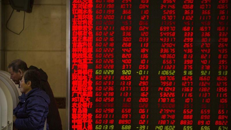 Hong Kong stock market sentiment weighed down by rising tensions between Washington and Beijing