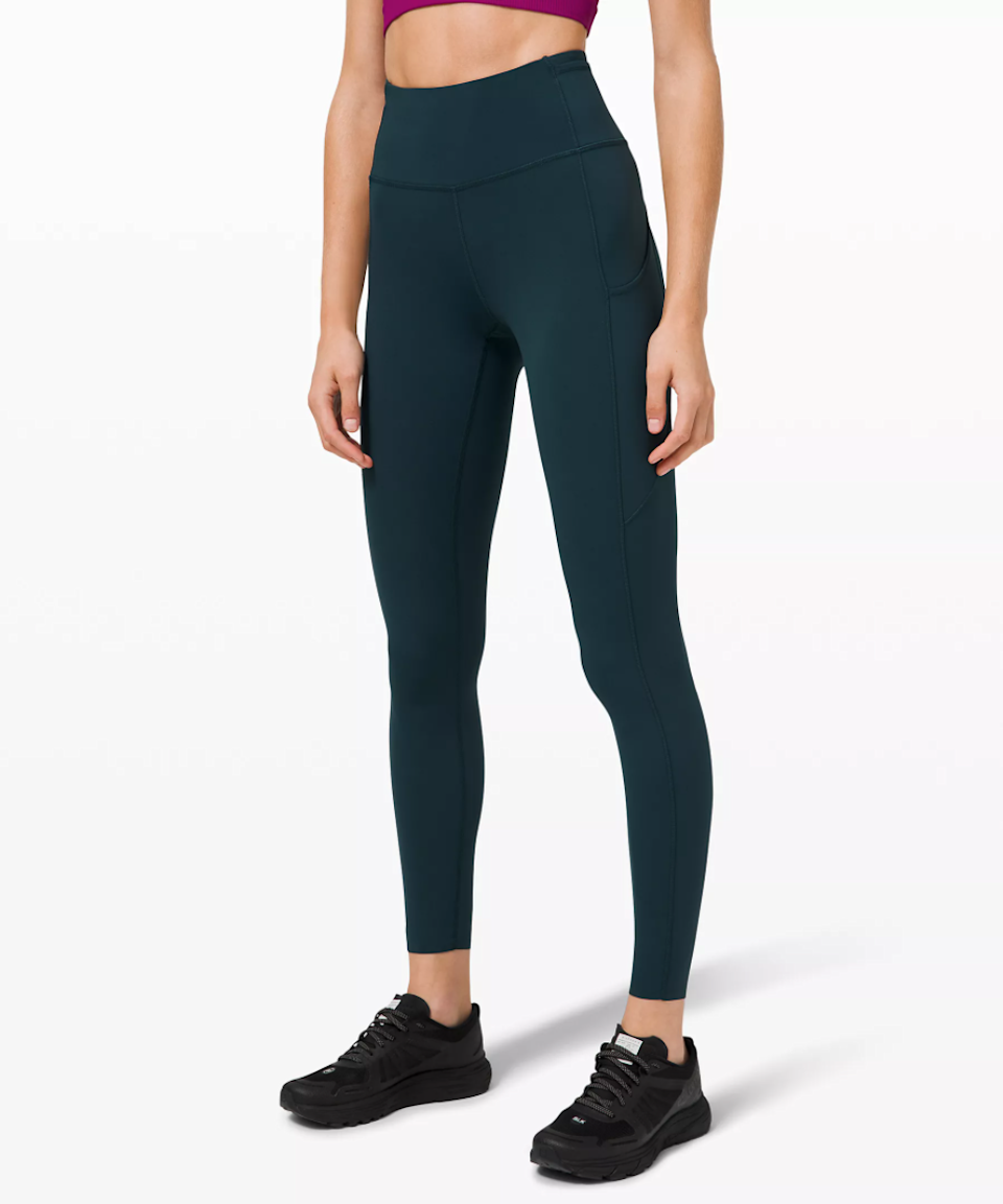 """<h3><h2>Lululemon Fast and Free High-Rise Tight<br></h2></h3><br><strong><em>Overall Score: 4.5</em></strong><br><br><strong>Stretch: 4.5 </strong><br>I wore these tights on runs, as I cross-trained at the gym, to SoulCycle, to pilates, and even dancing at a club (it was part of a costume for a Super Bowl theme party). I was impressed with the way they held up across categories. I felt I had the flexibility to do any movement I needed — even the hip openers and the jersey turnpikes. <br><br><strong>Sweat wicking: 5.0</strong><br>I have nothing to say about the sweat-wicking, because I never noticed or thought about my sweat when I wore these pants. In my eyes, that's the ultimate goal. <br><br><em>— Molly</em> <em>Longman, Wellness Writer</em><br><br><strong>lululemon</strong> Fast and Free High-Rise Tight, $, available at <a href=""""https://go.skimresources.com/?id=30283X879131&url=https%3A%2F%2Fshop.lululemon.com%2Fp%2Fwhat-we-love%2FFast-And-Free-Full-HR-Tight-NR-Brushed%2F_%2Fprod9200031"""" rel=""""nofollow noopener"""" target=""""_blank"""" data-ylk=""""slk:lululemon"""" class=""""link rapid-noclick-resp"""">lululemon</a>"""