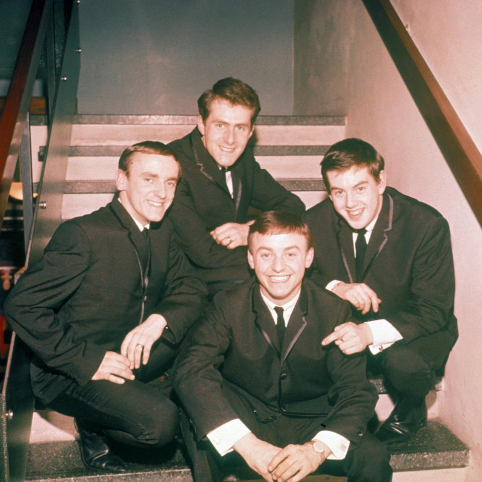 Fred Marsden, Les Maguire, Gerry Marsden, Les Chadwick – Gerry and the Pacemakers – in 1964 - Alamy