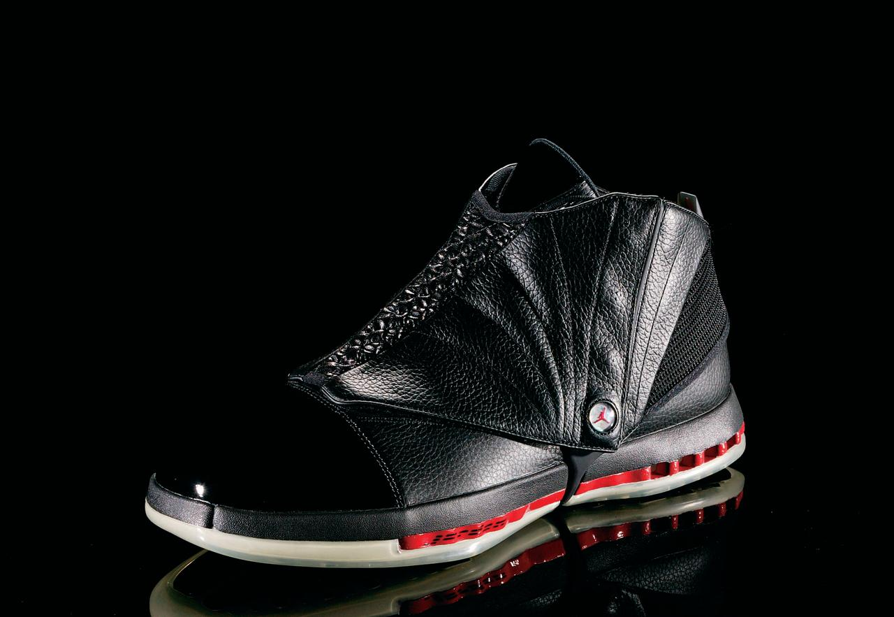 "<p>Air Jordan XVI - ""Marching On"" (2001): The marching-boot design signifies MJ's move from the court to the front office. (Photo Courtesy of Nike)</p>"