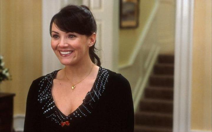 Martine admits she was a 'nervous wreck' when filming Love Actually in 2003.