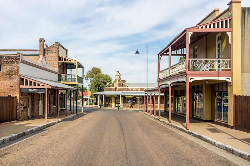 Gulgong, Australia - January 3, 2012: Heritage streetscape of Gulgong, a 19th-century gold rush town in the Mudgee wine region of NSW, Australia (Photo: Glen_Pearson via Getty Images)