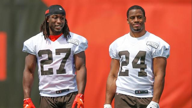 Cleveland Browns hope Nick Chubb-Kareem Hunt tandem will lead to offensive success